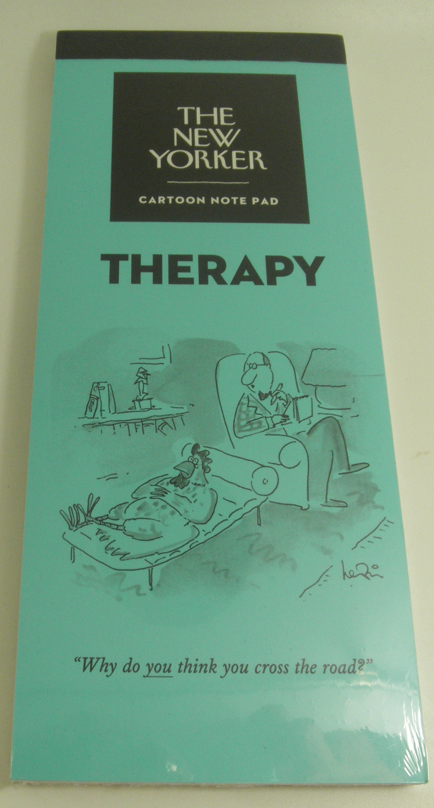 The New Yorker Cartoon Notepad Therapy