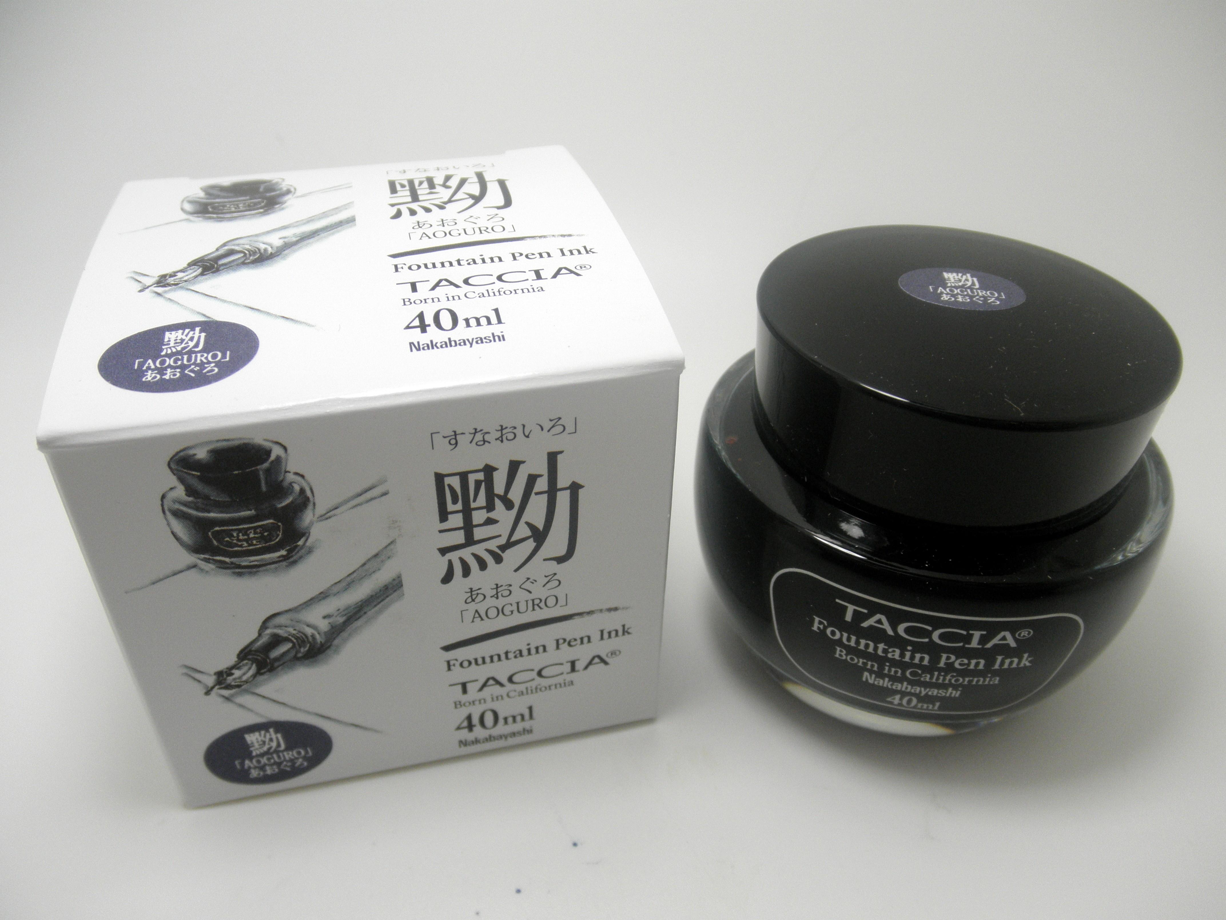 Taccia Bottled Ink Aoguro (Blue-Black)