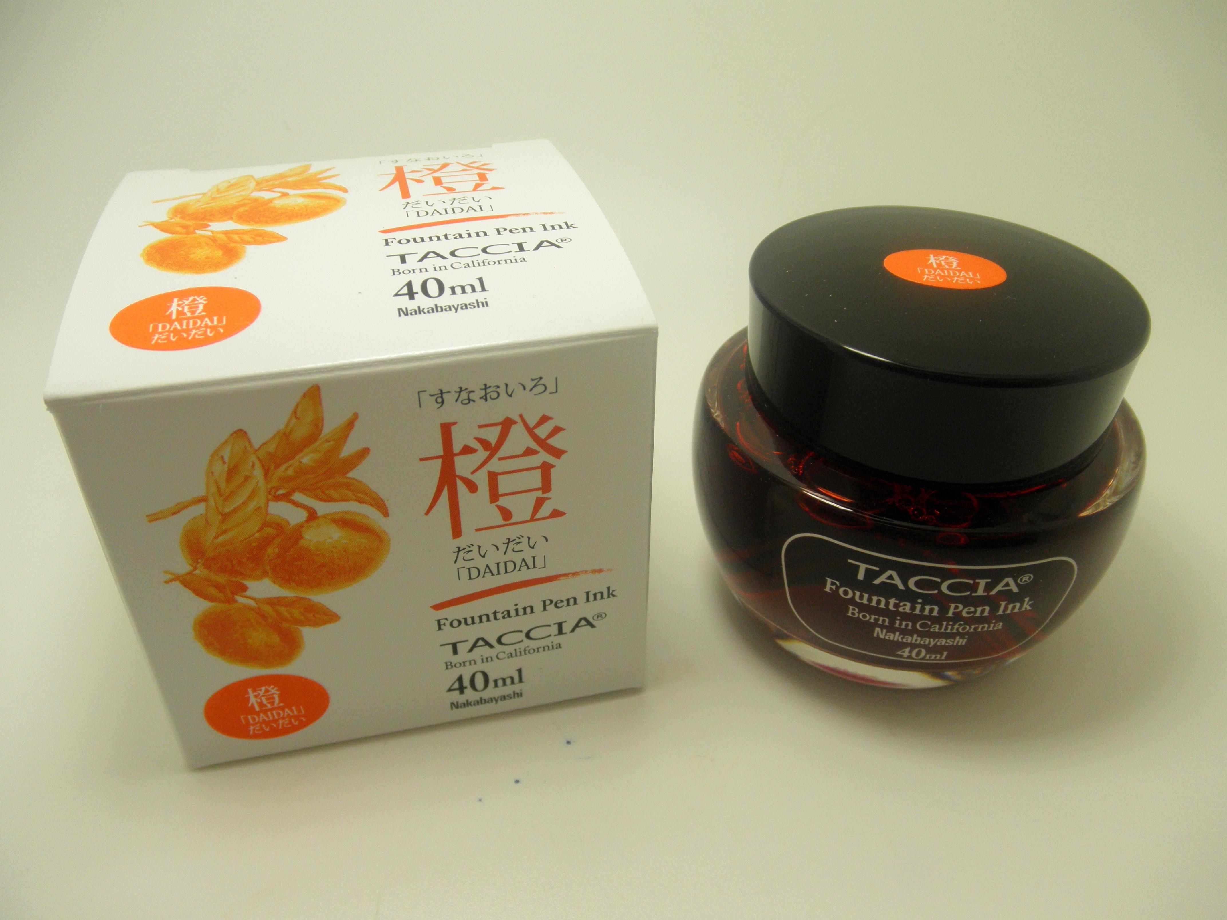 Taccia Bottled Ink Daidai (Orange)