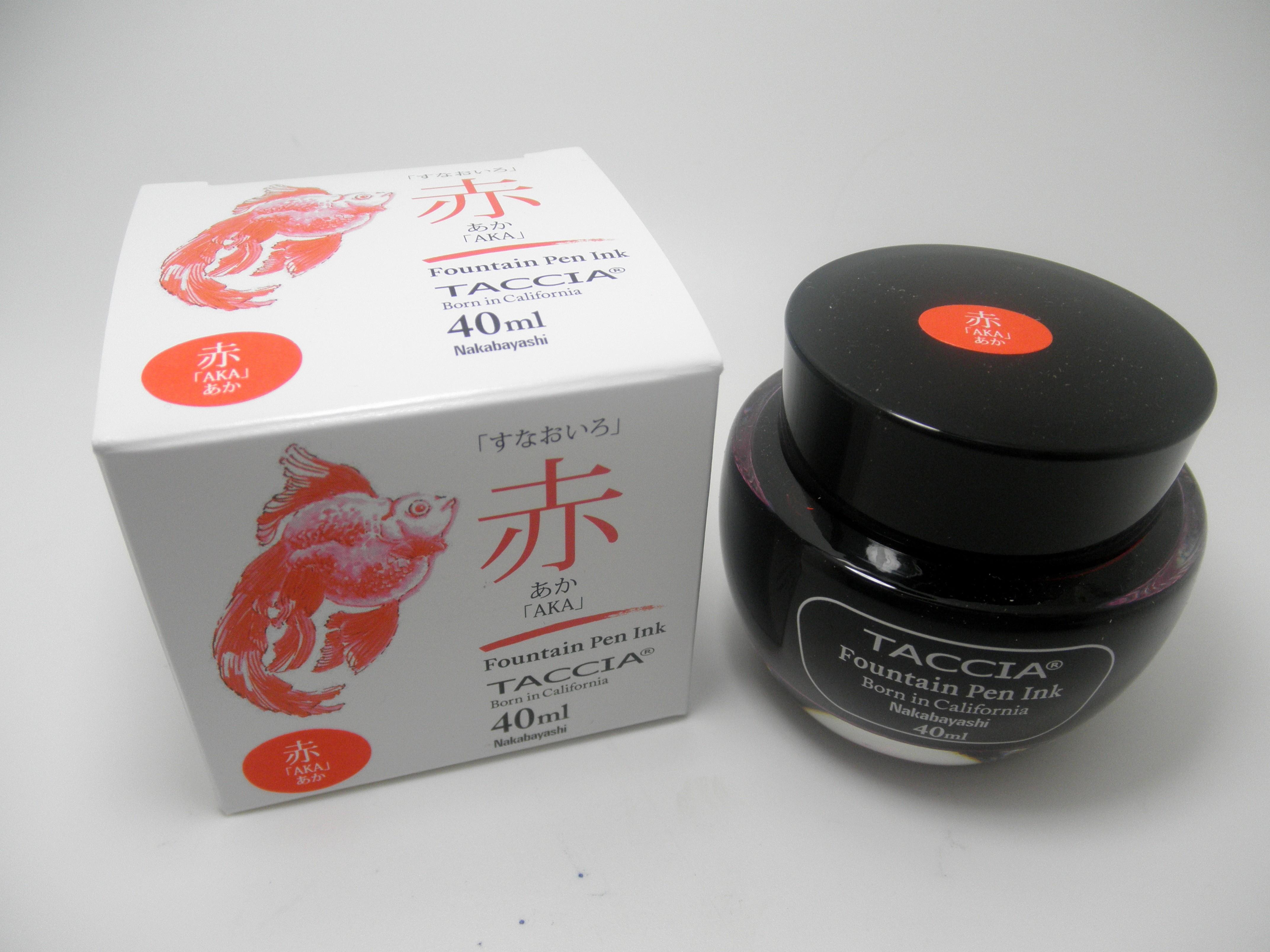 Taccia Bottled Ink Aka (Red)