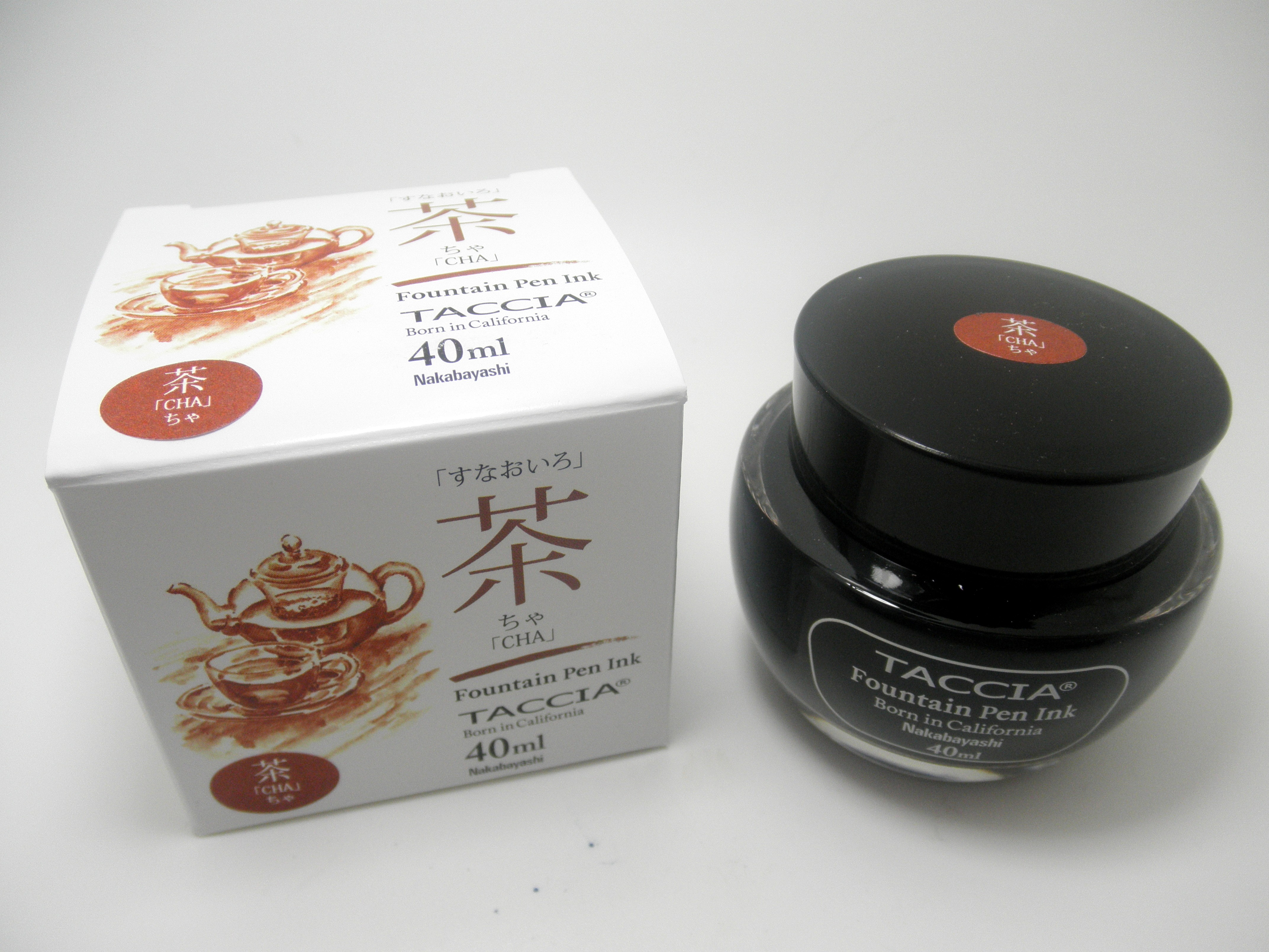 Taccia Bottled Ink Cha (Brown)