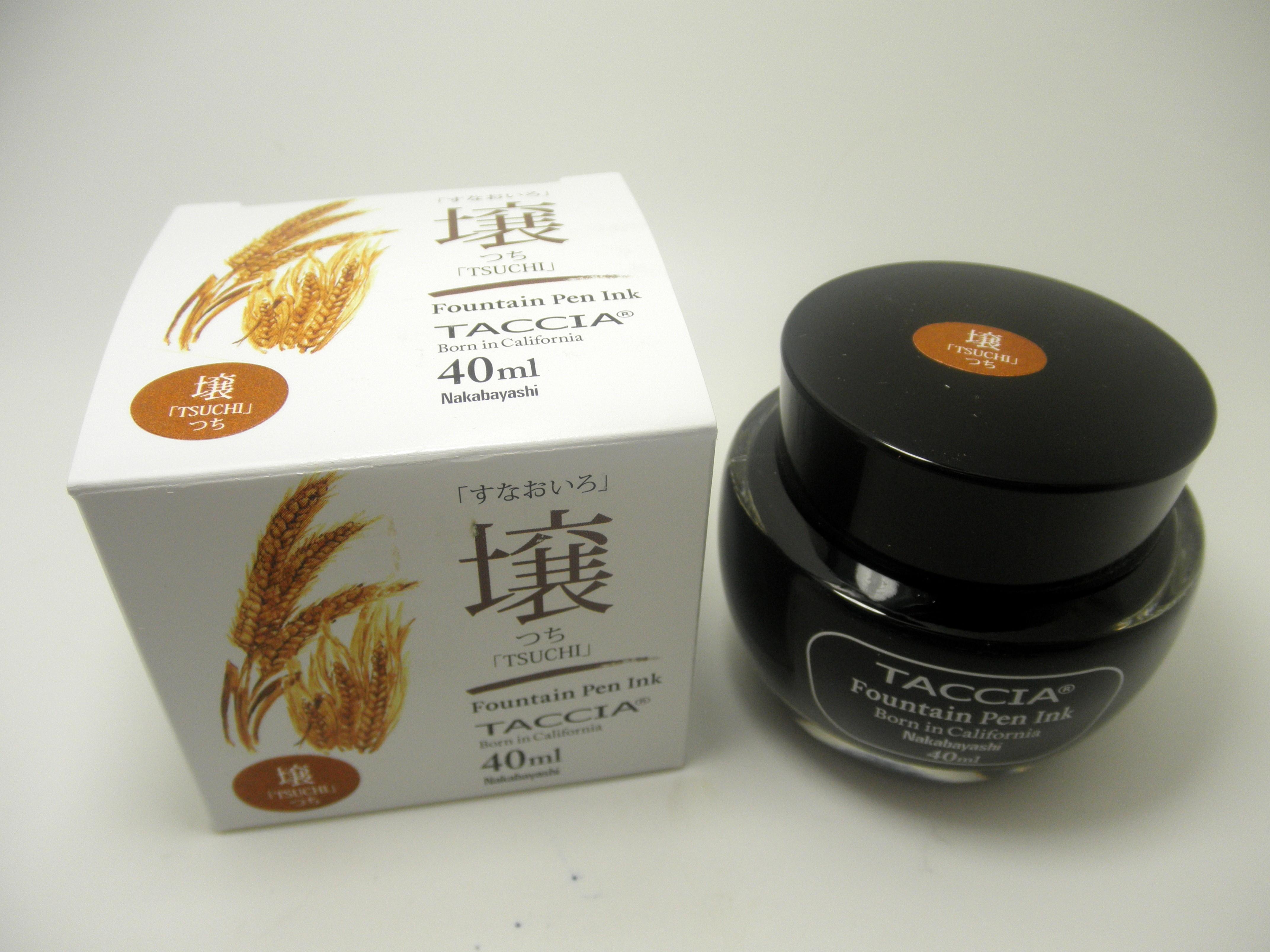 Taccia Bottled Ink Tsuchi (Golden Wheat)
