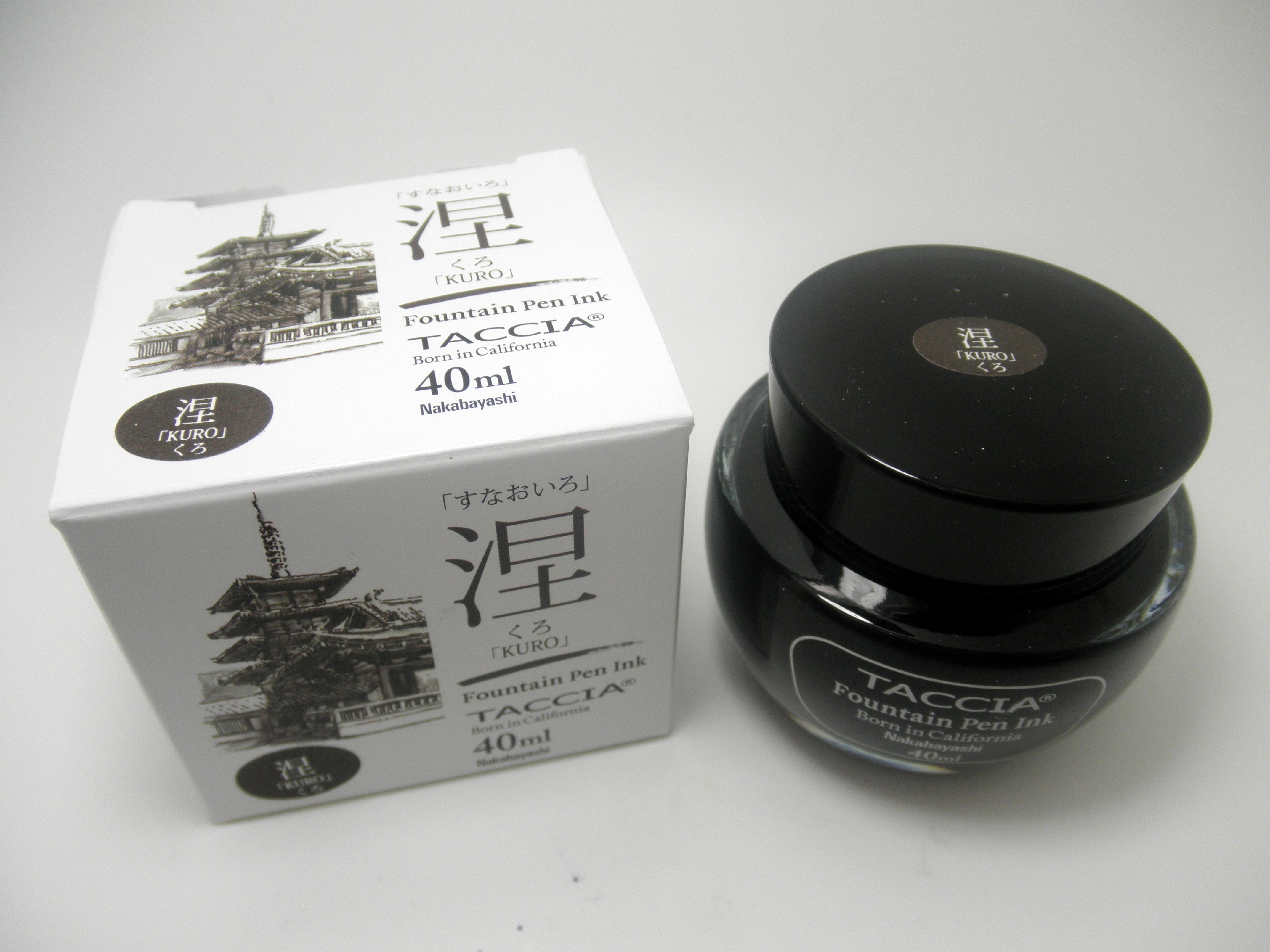Taccia Bottled Ink Kuro (Black)