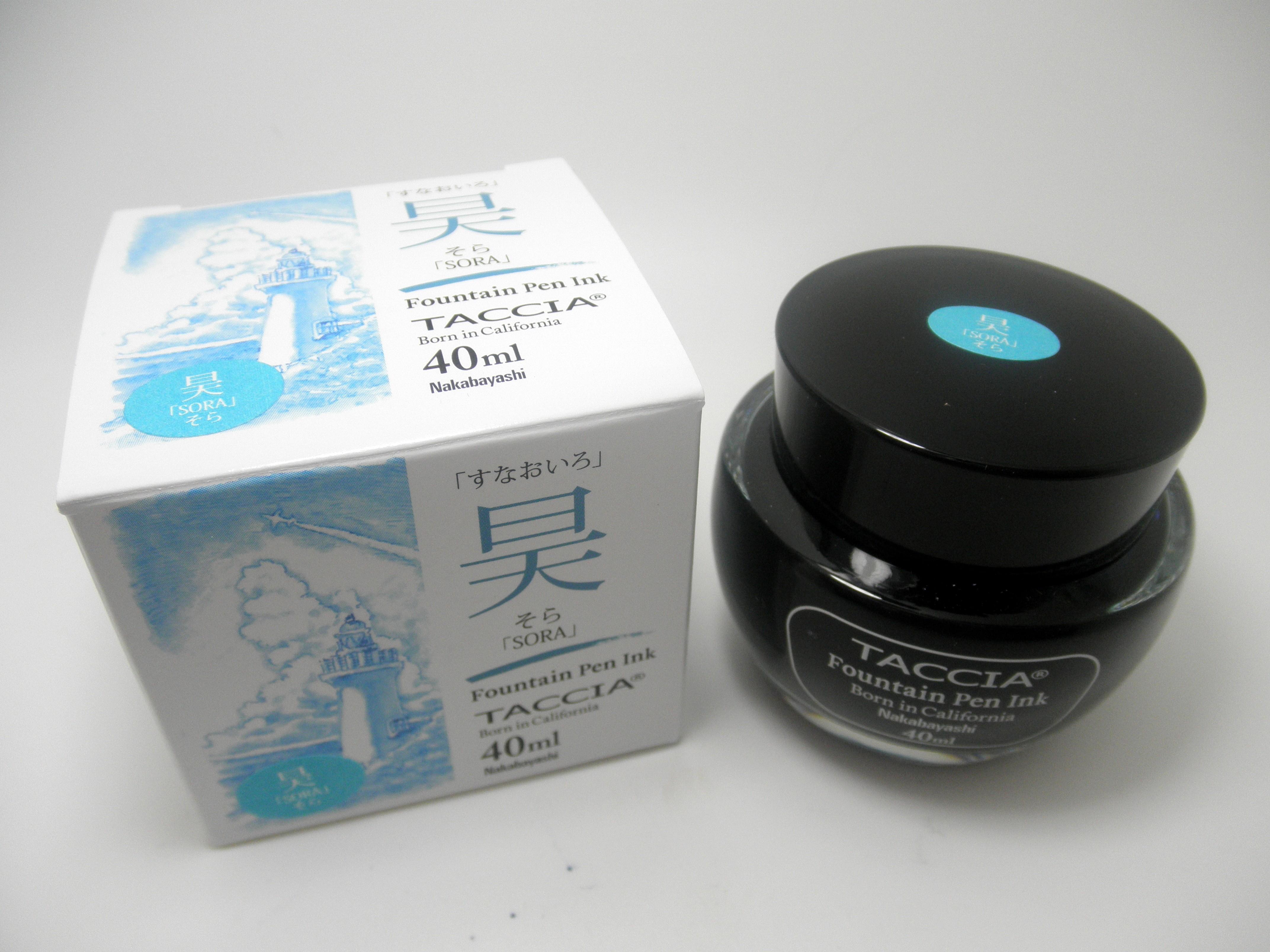 Taccia Bottled Ink Sora (Sky Blue)