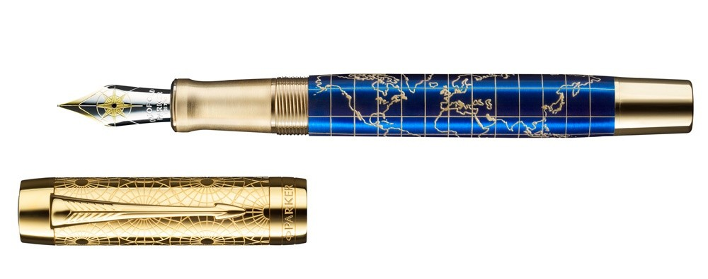 Parker Duofold 2018 Craft Of Traveling Fountain Pen