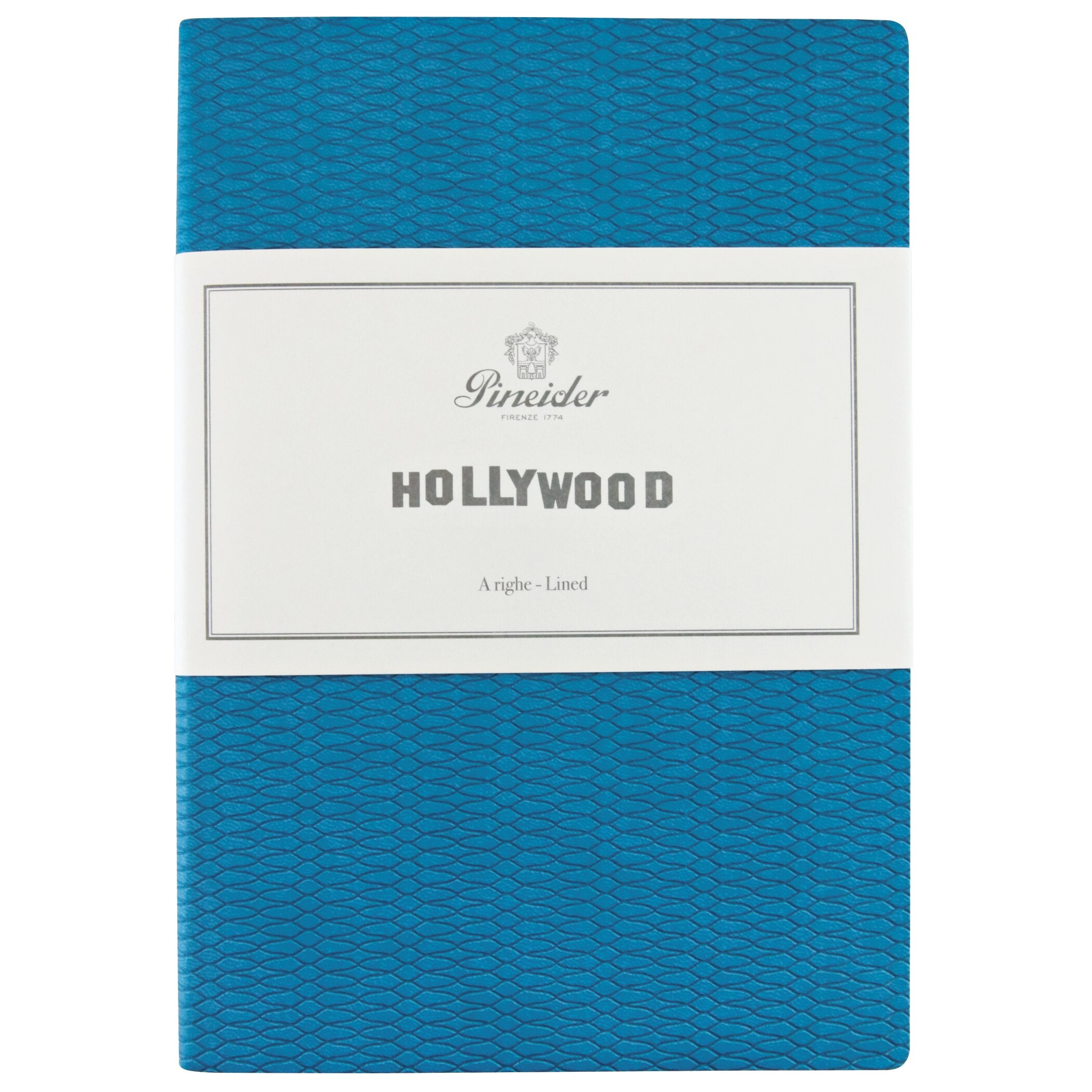 """Pineider Hollywood Notebook """"Paul Newman"""" Turquoise"""