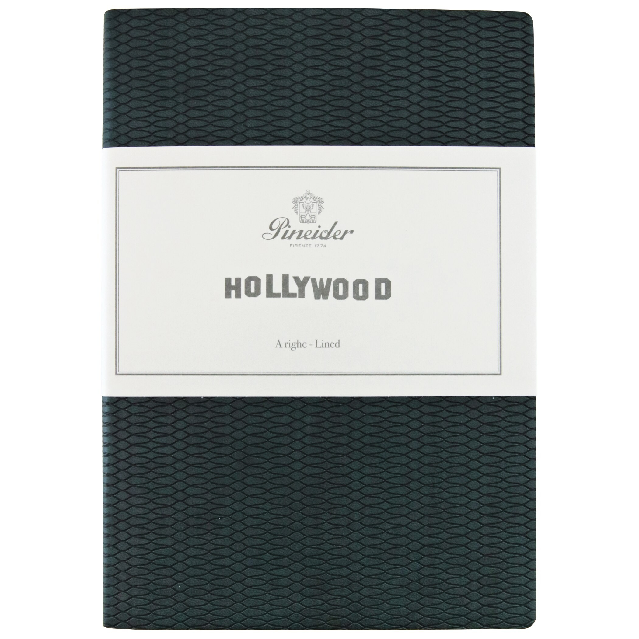 """Pineider Hollywood Notebook """"The Green Mile"""" Green"""
