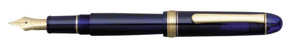 Platinum #3776 Century Chartres Blue Fountain Pen