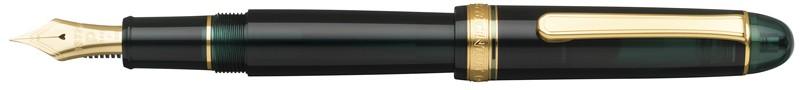 Platinum #3776 Century Laurel Green Fountain Pen