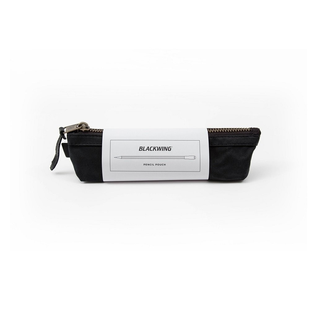 Blackwing Pencil Pouch Black Leather