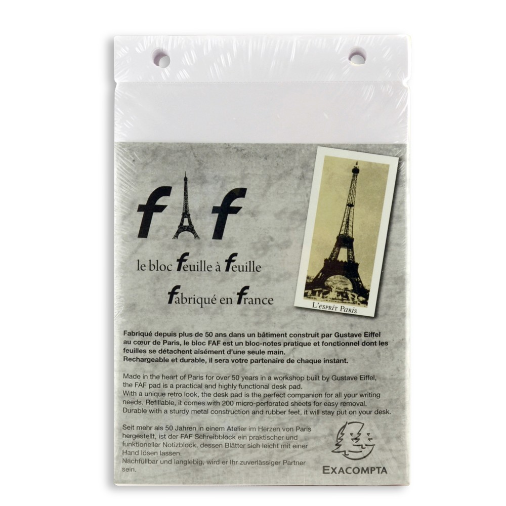"Exacompta FAF Pad Refills 6.25"" X 7.25"""