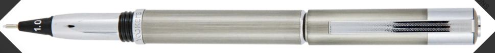 Yookers Metis Fiber Pen Grey Brushed Lacquer