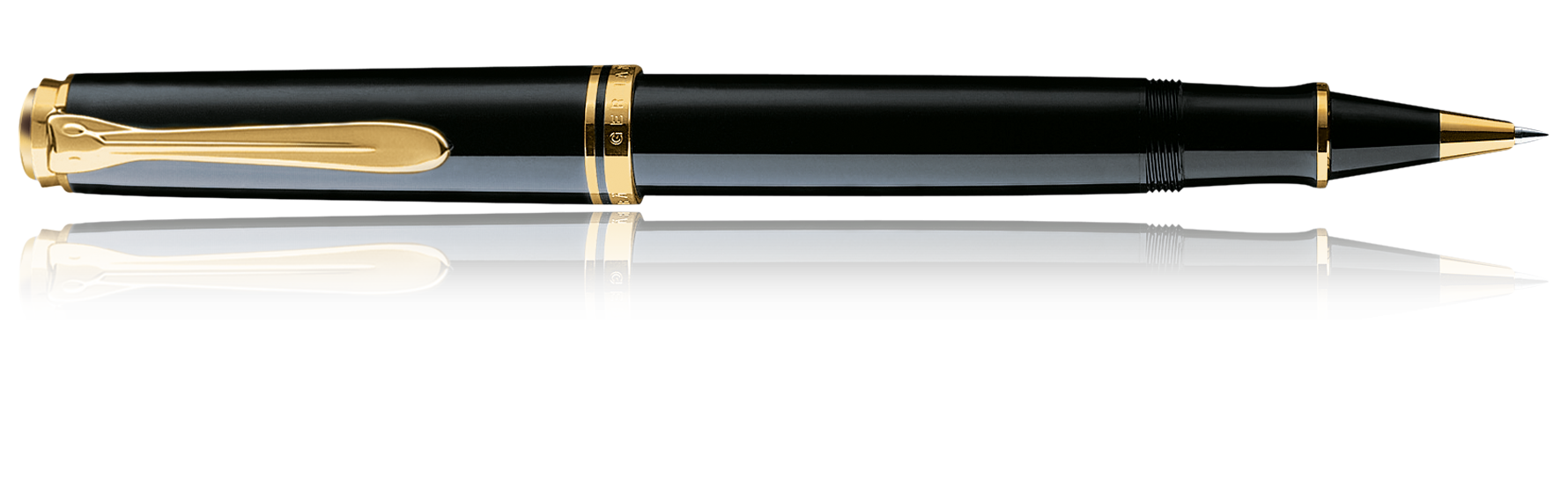Pelikan Souverän R400 Black Rollerball Pen