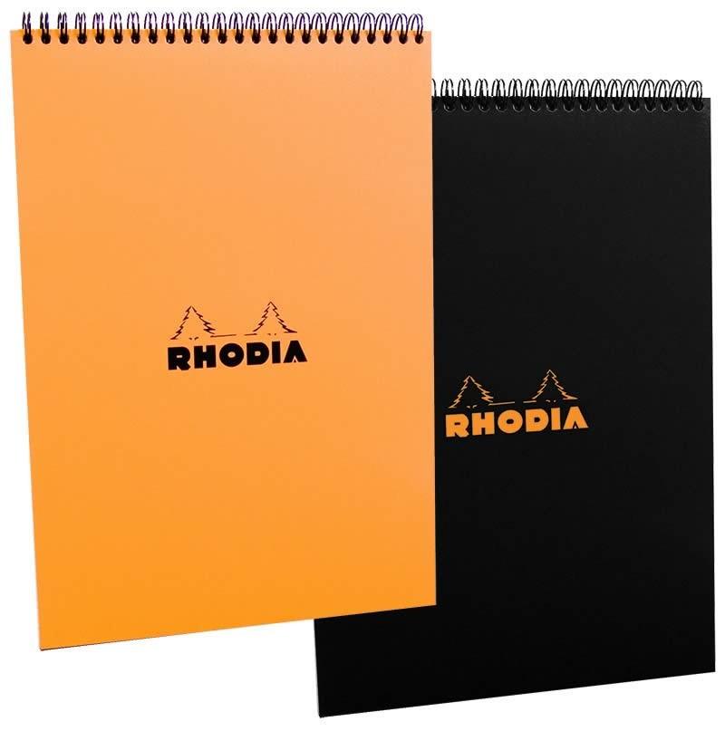 Rhodia No. 18 Black Wirebound Pad