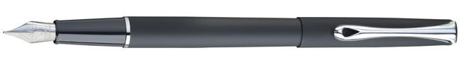 Diplomat Traveller Lapis Black Fountain Pen