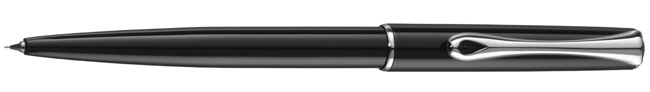 Diplomat Traveller Black Lacquer 0.5mm Pencil