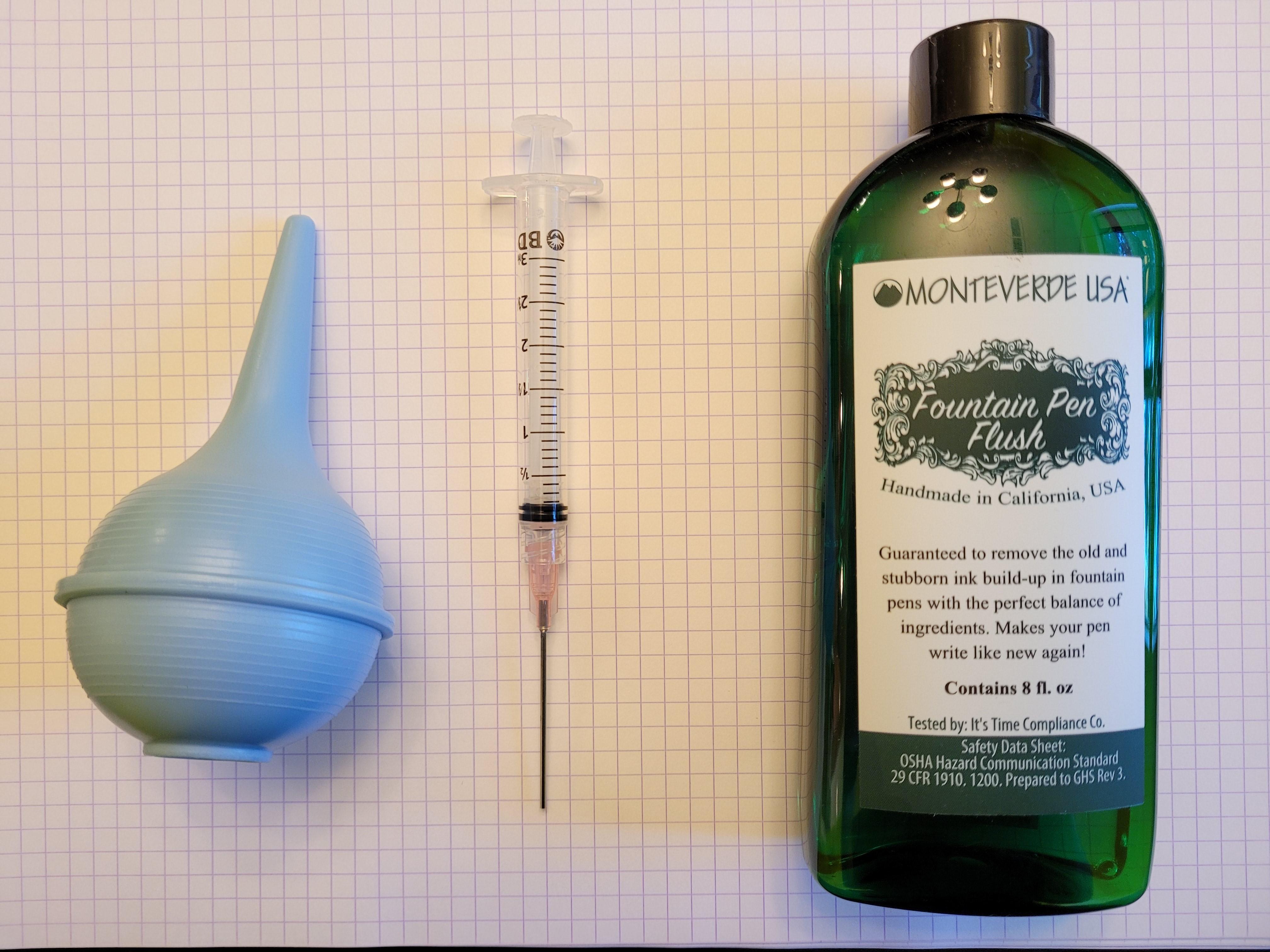 Bertram's Inkwell Ultimate Pen Cleaning Kit