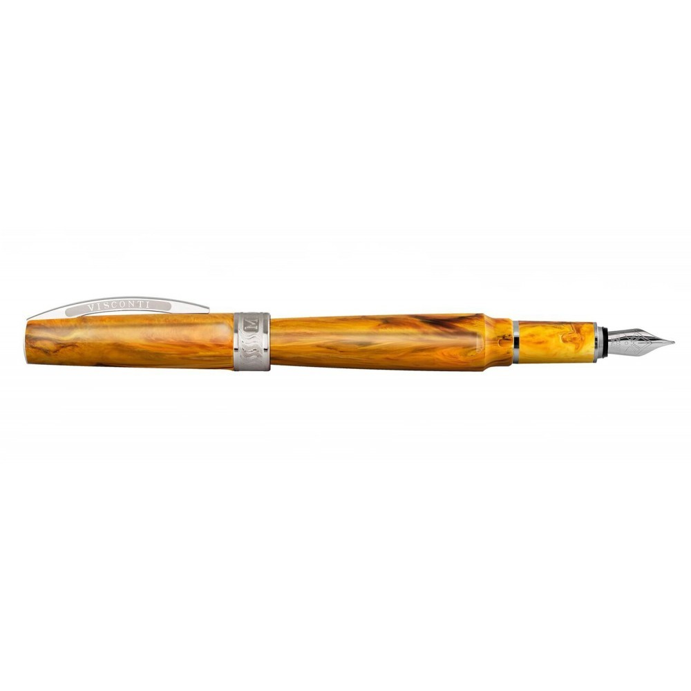 Visconti Mirage Amber Fountain Pen