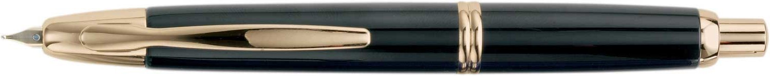 Pilot Vanishing Point Gold Accents Black Fountain Pen