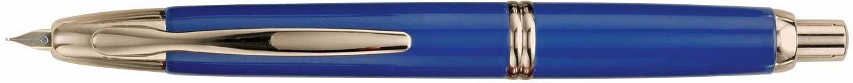 Pilot Vanishing Point Gold Accents Blue Fountain Pen