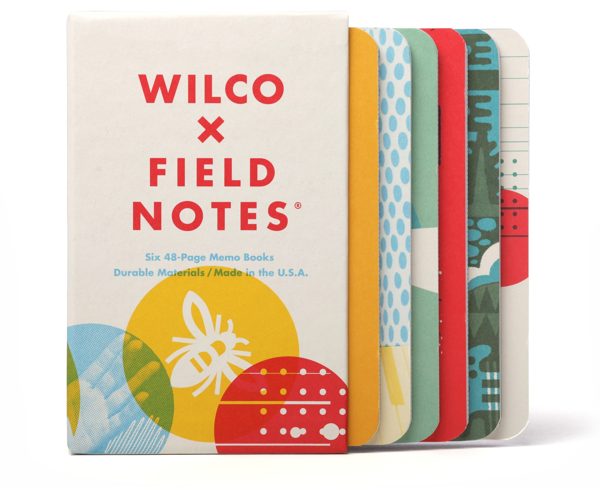 Field Notes Wilco Box of 6 Set