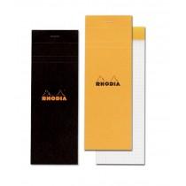 Rhodia No. 8 Staplebound Pad Black