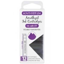 Monteverde Ink Cartridges Amethyst