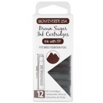 Monteverde Ink Cartridges Brown Sugar
