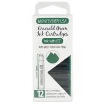 Monteverde Ink Cartridges Emerald Green