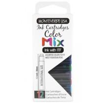 Monteverde Ink Cartridges Color Mix