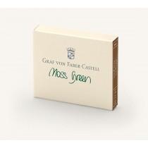 Graf von Faber-Castell Fountain Pen Ink Cartridges Moss Green
