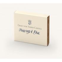 Graf von Faber-Castell Fountain Pen Ink Cartridges Midnight Blue