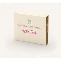Graf von Faber-Castell Fountain Pen Ink Cartridges Electric Pink