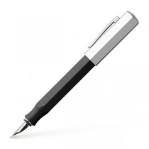 Faber Castell Ondorno Graphite Black Fountain Pen