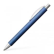 Faber Castell Essentio Aluminium Blue Ballpoint Pen
