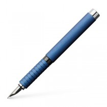 Faber Castell Essentio Aluminum Blue Fountain Pen
