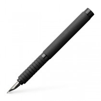 Faber Castell Essentio Aluminum Black Fountain Pen