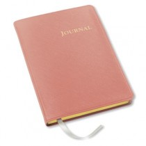 Gallery Leather Desk Journal Key West Salmon