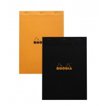 Rhodia No. 18 Black Staplebound Pad