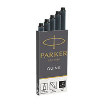 Parker Fountain Pen Ink Cartridge Black
