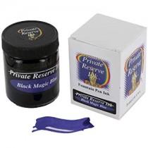 Private Reserve Bottled Ink Black Magic Blue