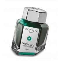 Caran d'Ache Chromatics Bottled Ink Vibrant Green