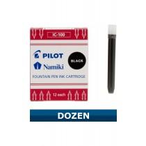 Pilot Namki Black Ink Cartridges