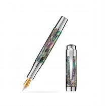 Laban Abalone Chrome Fountain Pen