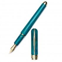 Pineider Avatar UR Deluxe Abalone Green Fountain Pen