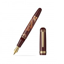 Laban 325 Cambridge Burgundy Fountain Pen