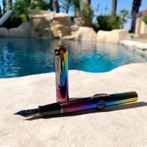 Conklin Crescent Filler Limited Edition Rainbow Fountain Pen