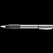 Lamy Accent Aluminum Grey Wood Fountain Pen