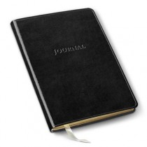 Gallery Leather Desk Journal Acadia Black