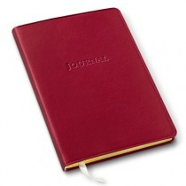 Gallery Leather Desk Journal Camden Red